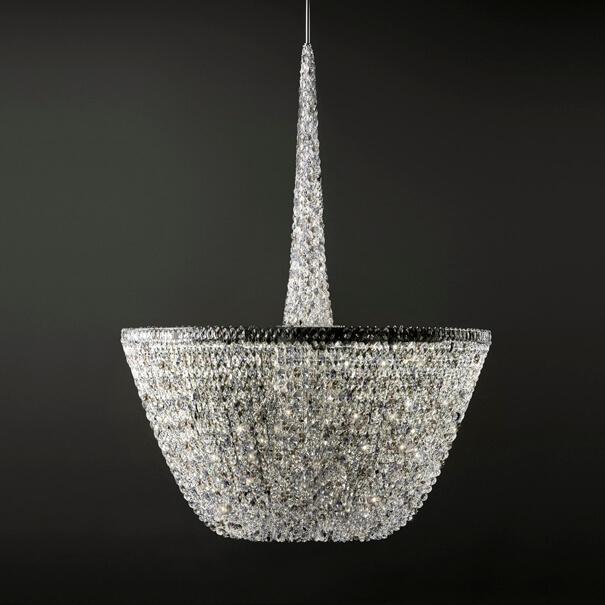 Nappali kristály csillárok széles választékban.